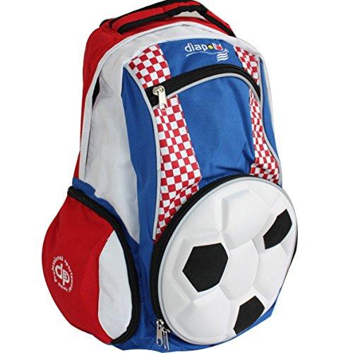 Diapolo Kroatien Fußball Rucksack Sporttasche Tasche