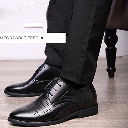 MYXUA Chaussures De Derby En Dentelle Pour Hommes Chaussures De Travail Décontractées Chaussures De Travail Mode Confort Respirant 1 KMSC5