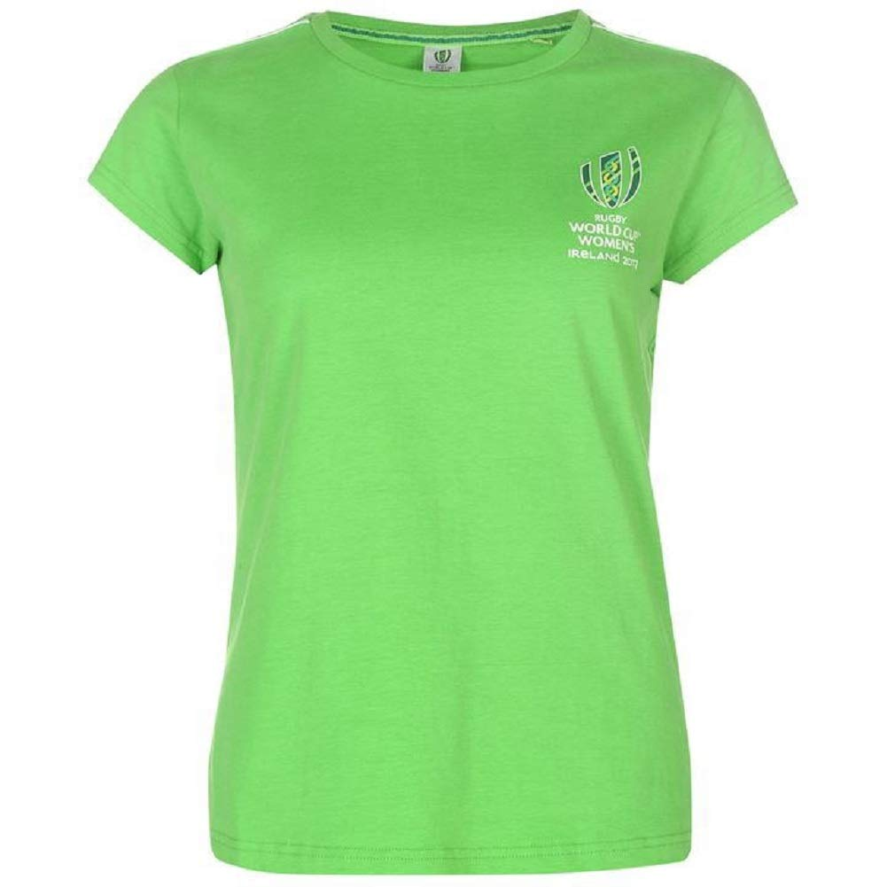 RWC 2017 Womens Rugby World Cup Ireland T Shirt Ladies
