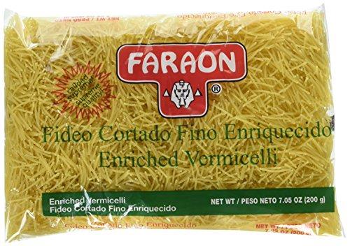 Fideo Pasta - FARAON Pasta Fide Cut/Fine, 7 Ounce (Pack of 20)