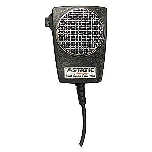 com astatic dmb amplified ceramic power  astatic 302 10005 d104m6b amplified ceramic power 4 pin cb microphone