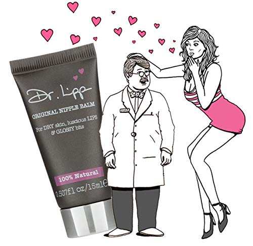 Dr. Lipp's Original Lanolin Nipple Balm & Lip Cream - Natural Moisturizer for Dry Chapped Lips, Nursing or Breastfeeding, Diaper Rash, Eyelashes, Sore Nose & So Much More (15 ml) - 6 Pack by Dr. Lipp (Image #1)