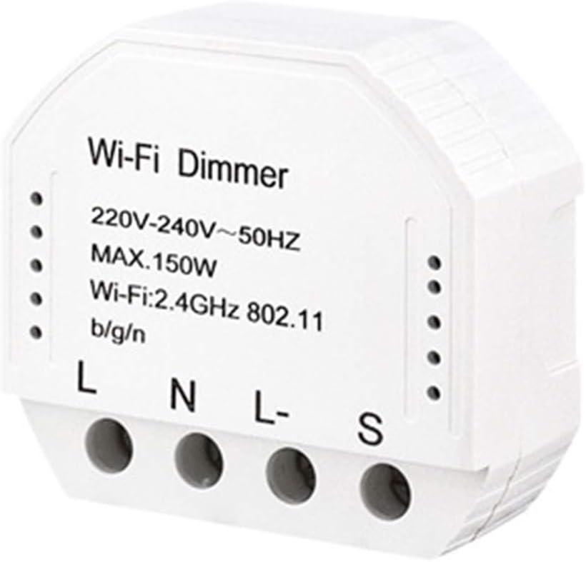 150W 220V-240V Control Remoto LED Luz Inalámbrica Interruptor Módulo WiFi Dimmer Smart