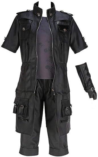 Final Fantasy XV 5 Noctis Lucis Caelum Cosplay Costume Halloween Fancy Dress New