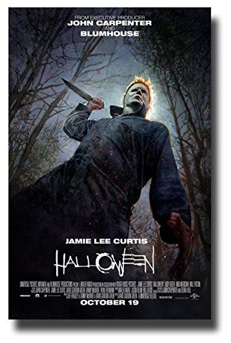 Halloween Poster Movie Promo 11 x 17 inches 2018 Reboot -