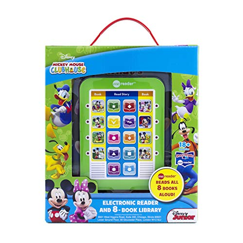 - Disney Junior - Mickey Mouse Clubhouse - Me Reader Electronic Reader and 8-Book Library - PI Kids