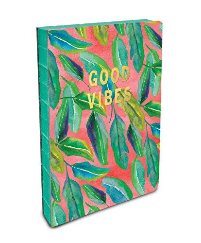 Studio Oh! Hardcover Medium Coptic-Bound Journal Available in 10 Designs, Justina Blakeney Botanicals on Blush from Studio Oh