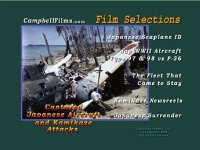 Kamikaze Captured Aircraft Japanese Seaplane fighter Warbirds old films DVD by Japanese Zero