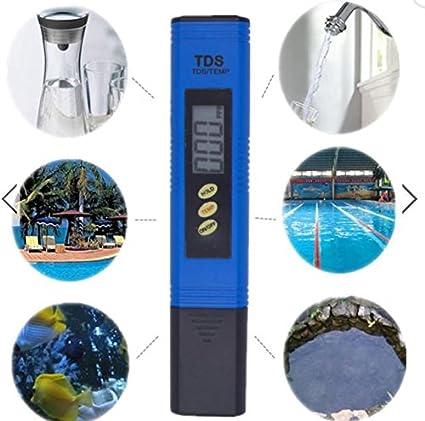 DY2DY Comprobador automático de agua de titanio, sonda de acuario ...
