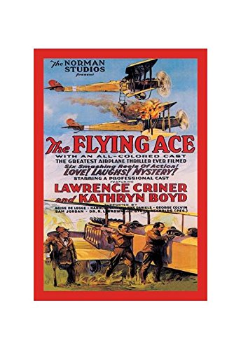 Buyenlarge Flying Ace Movie Poster Print (Canvas 24x36)