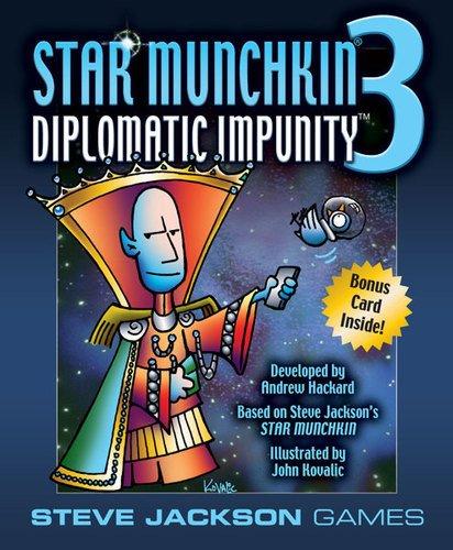Star Munchkin 3 Diplomatic Impunity Card ()