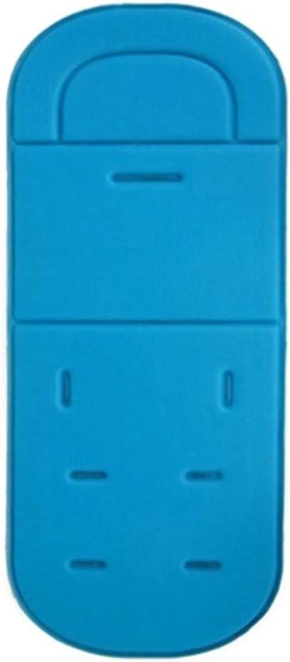 para Cochecito de beb/é Azul Celeste Talla:34 80 cm//13.39 31.50 Inch keptfeet Alfombrilla de coj/ín para Cochecito de beb/é Universal