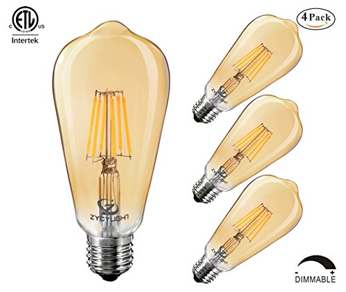 Led Teardrop Filament 40w Equivalent Light Bulb: Compare Price To Vintage Amber