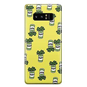 Loud Universe Popeye Samsung Note 8 Case Spinach Samsung Note 8 Cover with 3d Wrap around Edges