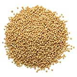 Yellow Mustard Seeds, 20 Pounds - Kosher, Raw, Vegan, Bulk