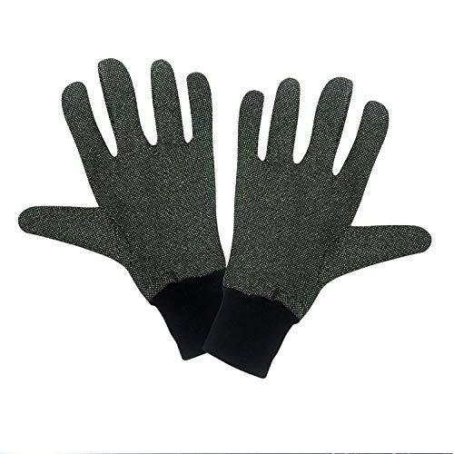 35 Below Supersoft Cold Weather Glove Liners | Aluminized Thread, Soft Nylon Knit Warming Gloves | Men's, Black