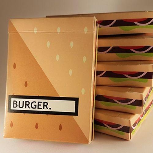 Burger Deck Spielkarten von Flaminko Playing Cards