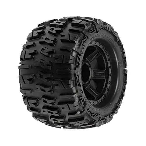 Proline 118411 Trencher 3.8'' All Terrain Tire Mounted on Desperado Black Wheels