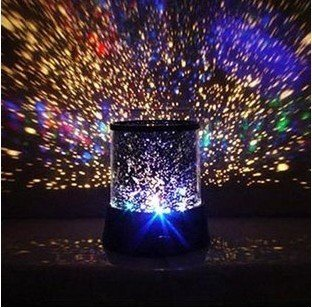 InnooTech LED Night Light Projector Lamp, Colorful Star Light, Bedside