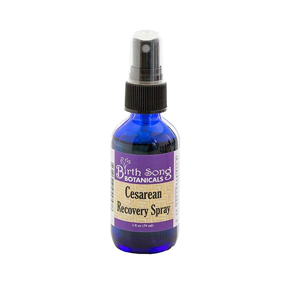 Birth Song Cesarean Recovery Antiseptic Spray, Wound and Skin Care Cleanser, 2 ounce bottle