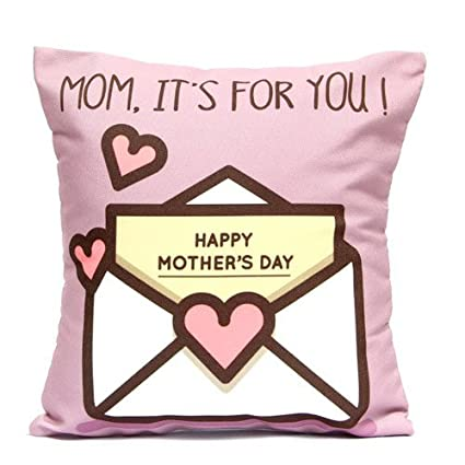 Buy Mothers Day Memo Cushion for Mom 12 x 12 with fillers; mothers ...