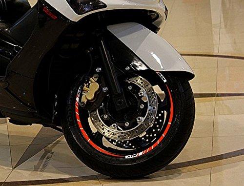 STRISCE ADESIVE CERCHI compatibili x scooter YAMAHA TMAX 2001-2007 anniversario