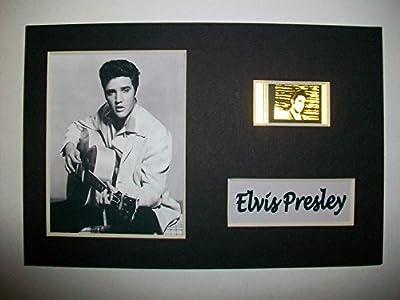 ELVIS PRESLEY Unframed Film Cell Display - Collectible Movie Memorabilia - Co...