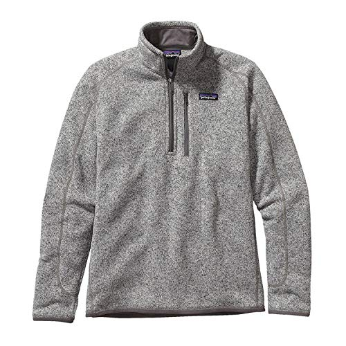 Patagonia M's Better Sweater 1/4 Zip Casual Jacket Stonewash Mens XS (Patagonia Mens Better Sweater 1 4 Zip Sale)