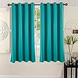 52″ X 63″ Blackout Grommet Curtain – Turquoise (2 Panels)