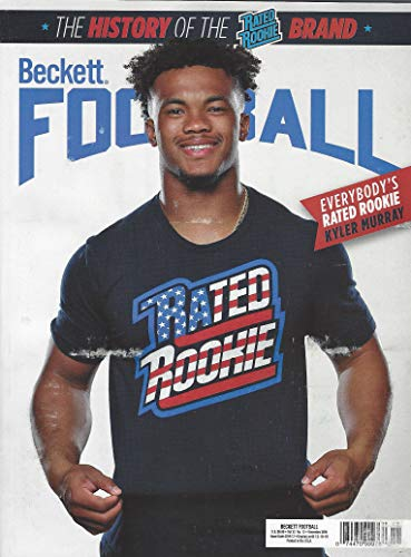 NEWEST GUIDE: Beckett Football Card Monthly Price Guide (October 16, 2019 / K. Murray cover)