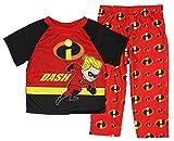 Disney Pixar Incredibles 2 Little Boys' Toddler Dash 2-Piece Pajama Set (3T)