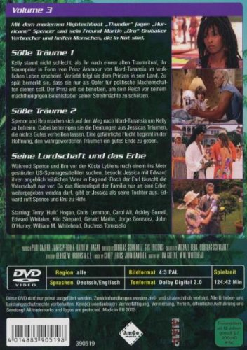 Thunder in Paradise: Heiße Fälle - Coole Drinks, Vol. 03 Alemania DVD: Amazon.es: Chris Lemmon, Carol Alt, Patrick Macnee, Felicity Waterman, Sam J. Jones, Charlotte Rae, Lisa Stahl, Cory Lerios, Chris Lemmon,