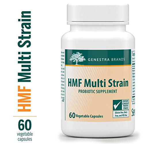 Genestra Brands - HMF Multi Strain - 16 Strains of Probiotics to Promote GI Health* - 60 Capsules
