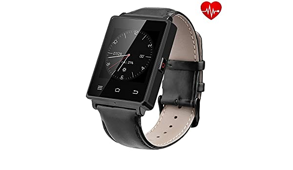 No. 1 D6 Android 5.1 3 G Smart Watch Phone mtk6580 Quad Core ...