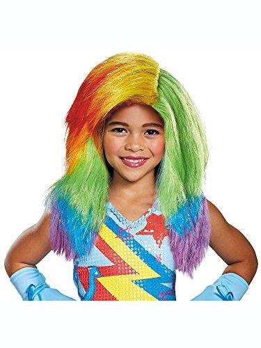 (Rainbow Dash Movie Child Wig)