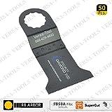 Versa Tool FB50A 45mm Wood / Plastic Multi-Tool Saw Blades 50/Pack Fits Fein Supercut Oscillating Tools