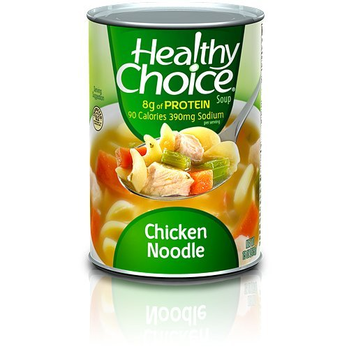 - Healthy Choice Chicken Noodle Soup 15 oz pack of 6