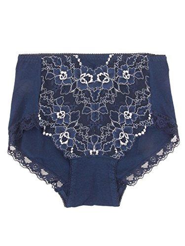 こどもの日取り替える算術(アズ) CUTE LACY 婦人デザインショーツ 綿混 丈深めタイプ 6701-41