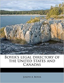Boyer's legal directory of the United States and Canadas