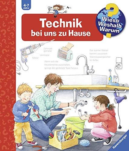 Technik bei uns zu Hause (Wieso? Weshalb? Warum?, Band 24) Spiralbindung – 22. Juni 2016 Ulrike Holzwarth-Raether Doris Rübel Ravensburger Buchverlag 3473326542