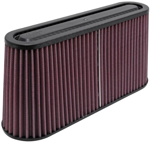 K&N RP-5105 Universal Air Filter - Carbon Fiber Top
