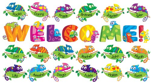 Back To School Bulletin Boards (Welcome Chameleons Bulletin Board)