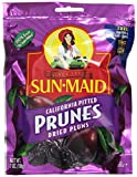 Sun Maid California Pitted Prunes, 7 Ounce (Pack of 12)