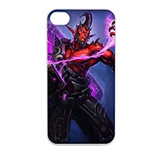 Ryze-002 League of Legends LoL case cover for Apple iPhone 4 / 4S - Plastic White
