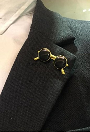 Kalapure Girls Fashion Sunglasses Super Dark Lens Lapel Pin Brooch by Kalapure (Image #1)