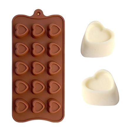 Sherineo Molde de la Torta del día de San Valentín, Molde de Hornear Bricolaje Forma de ...