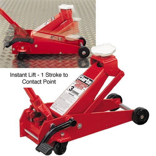 CLARKE QUICKLIFT TROLLEY JACK 3 TON ONE STROKE by Clarke International