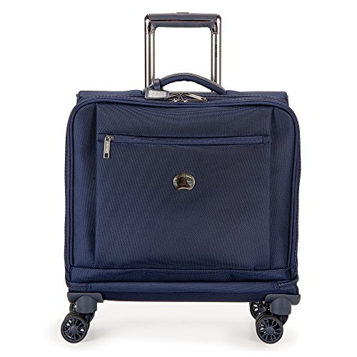 Delsey Luggage Montmartre+ Spinner Business Travel Tote, Navy by DELSEY Paris