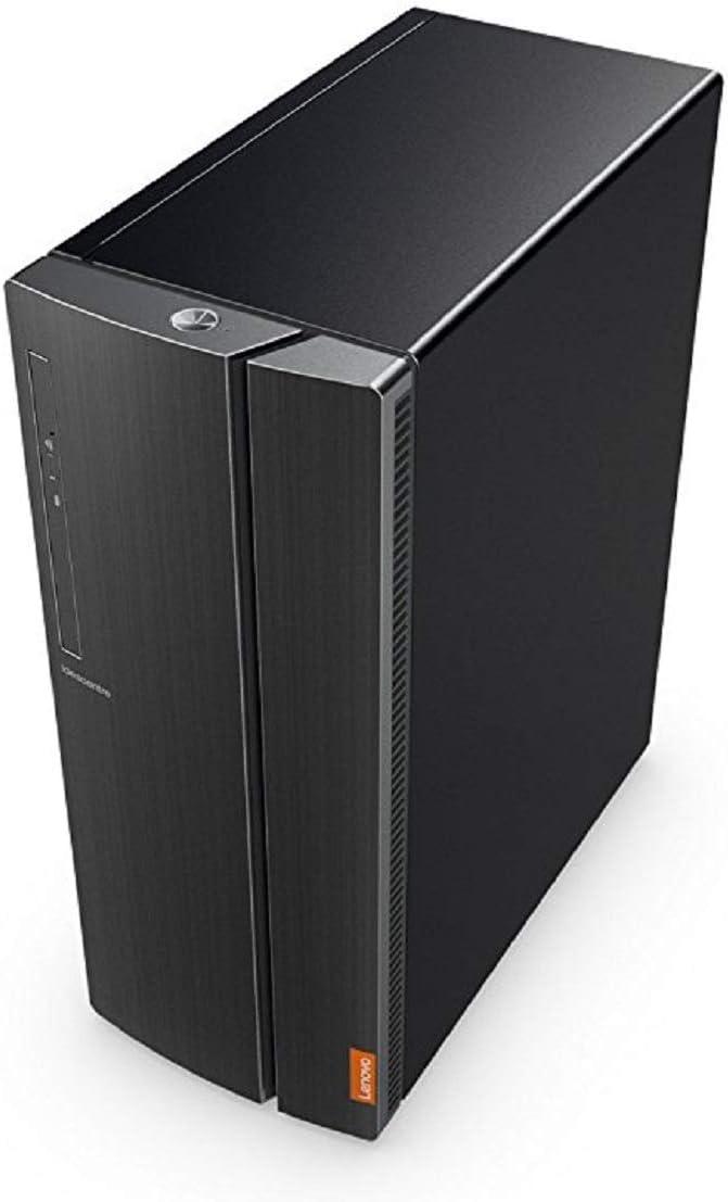 Lenovo ideacentre 510A - 90GV0003US (Core i7-7700/16GB (8GB x 2)/2TB/Intel HD Graphics 630/Windows 10) Desktop, Gun Metal