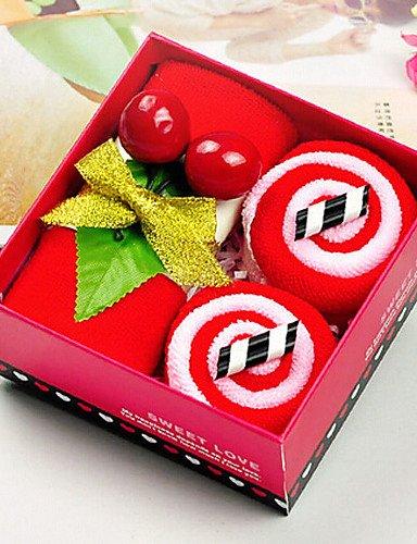 toalla de-regalo de la Navidad de microfibra de colores pasteles juego de toallas ,